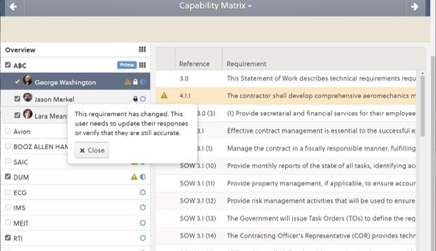 Capability Matrix Change Notification 2