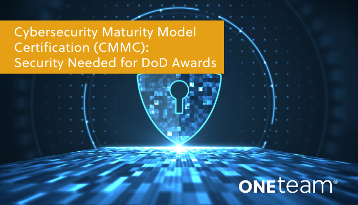 OTS-Cybersecurity Maturity Model Certification Security Needed for DoD Awards