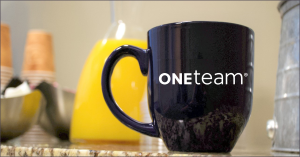 OneTeam coffee cup